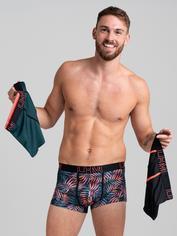 LHM Tropical Brights Boxer Shorts Set (3 Pack), Black, hi-res