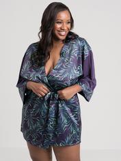 Lovehoney Paradise Lust Purple Robe, Purple, hi-res