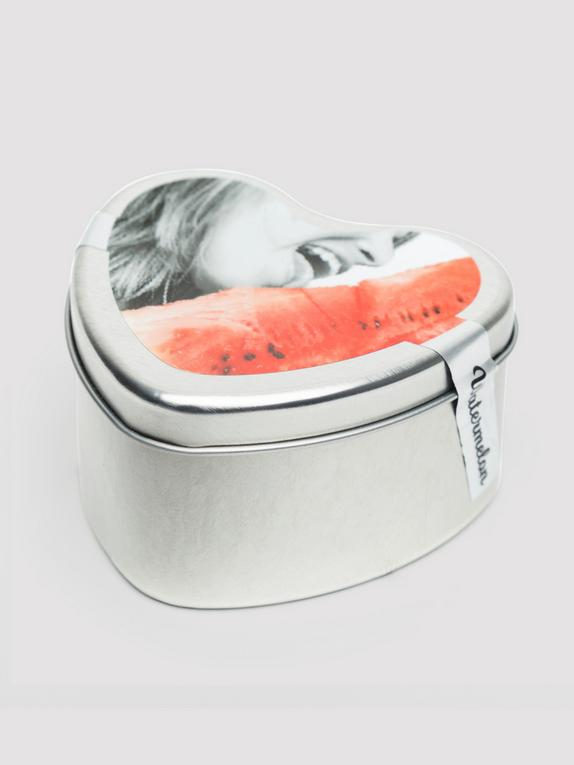 Earthly Body Lickable Watermelon Massage Candle (4oz), , hi-res