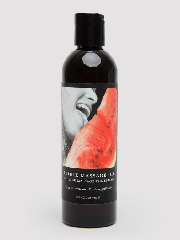 Earthly Body Lickable Watermelon Massage Oil (237ml), , hi-res
