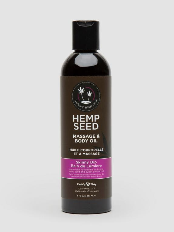 Earthly Body Skinny Dip Massage Oil (237ml), , hi-res