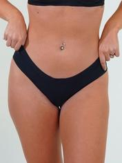 JoJoe Black Recycled Microfibre Keyhole Back Shorts , Black, hi-res