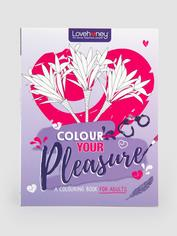 Lovehoney Colour Your Pleasure Colouring Book, , hi-res