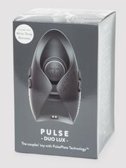 Hot Octopuss PULSE DUO LUX Remote Control Vibrating Male Masturbator , Black, hi-res