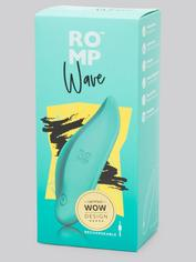 ROMP  Wave Rechargeable Clitoral Vibrator , Green, hi-res