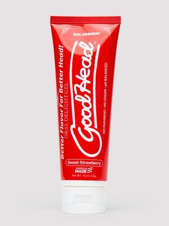 Doc Johnson Good Head Sweet Strawberry Oral Delight Gel 4 fl oz