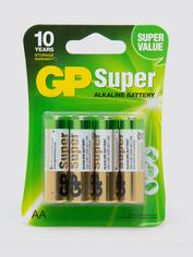 GP AA Batteries (4 Count)