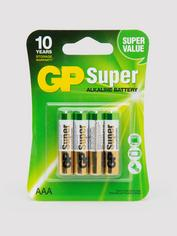 GP AAA Batteries (4 Count)