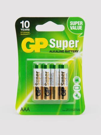 GP AAA Batteries (4 Count)