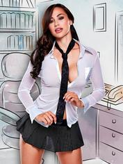 Baci Lingerie Sexy CEO Costume, White, hi-res