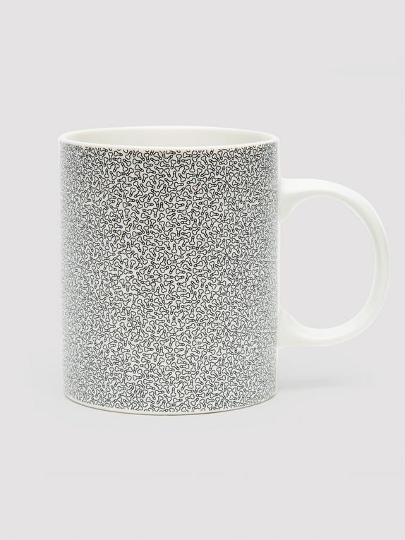 Penis Pattern Novelty Mug, , hi-res