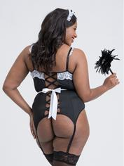 Lovehoney Fantasy Maid For You French Maid Costume, Black, hi-res