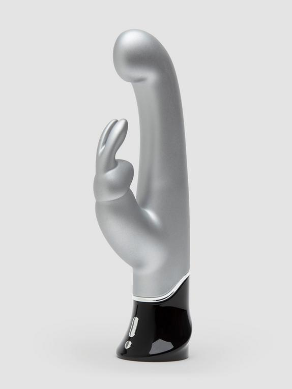 Vibromasseur rabbit Greedy Girl 10ème anniversaire, Fifty Shades of Grey, Argenté, hi-res