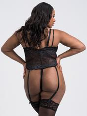 Lovehoney Dark Enchantment Black Lace Body, Black, hi-res