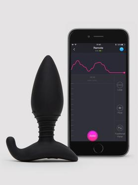 Lovense Hush App Controlled Vibrating Butt Plug 3.5 Inch