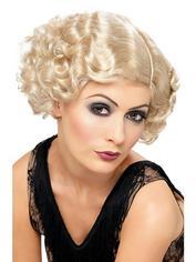 Fever Blonde Wavy Bob Wig, Blonde, hi-res