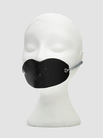 DOMINIX Deluxe Leather Lips Gag