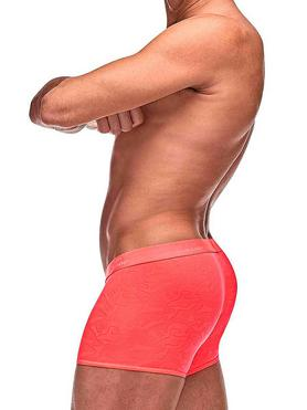 Male Power Coral Sheer Boxer Shorts