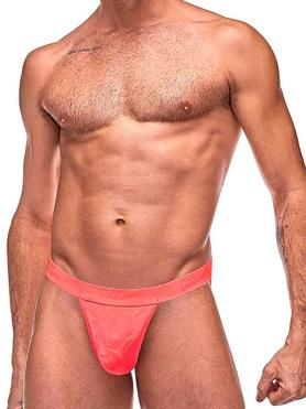 Male Power Coral Sheer Micro G-String