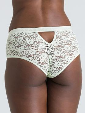 Lovehoney Mindful Mint Green Lace Shorts