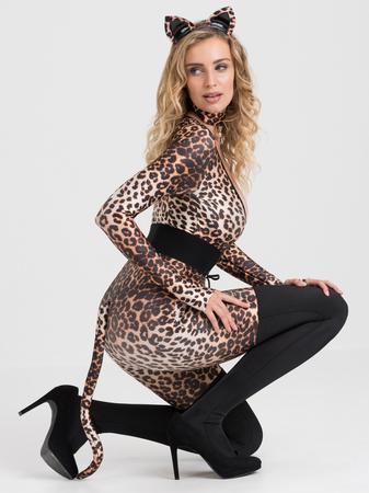 Lovehoney Feline Frisky Leopard Print Catsuit Costume