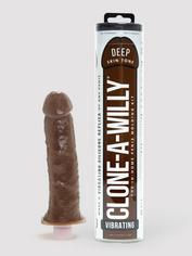 Clone-A-Willy Vibrator Moulding Kit Dark Skin Tone, Flesh Brown, hi-res
