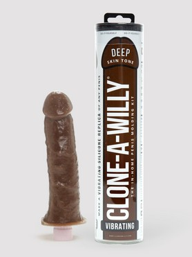 Clone-A-Willy Vibrator Moulding Kit Dark Skin Tone