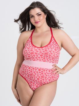 Body sin costuras con estampado de leopardo rosa Mindful de Lovehoney