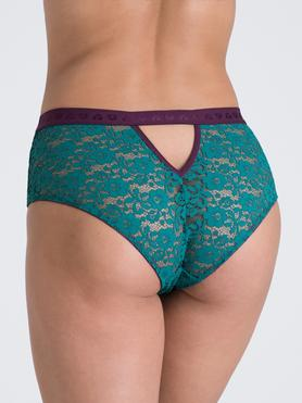 Lovehoney Mindful Teal Lace Shorts