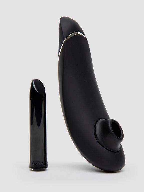 Womanizer X We-Vibe Silver Delights Limited Edition Pleasure Collection, Black, hi-res