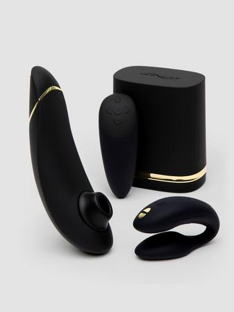 Womanizer X We-Vibe Golden Moments Limited Edition Pleasure Collection