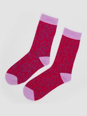 Socken mit Penis-Print (groß)