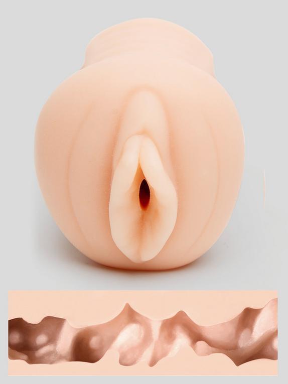 Vaginette réaliste autolubrifiante de poche Sadie Pro Mini 200g, THRUST, Couleur rose chair, hi-res