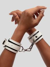Bondage Boutique Glow-in-the-Dark Wrist Cuffs, Black, hi-res
