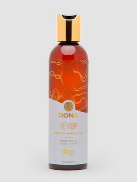 DONA Rev Up Mandarin and Ylang-Ylang Massage Oil 120ml
