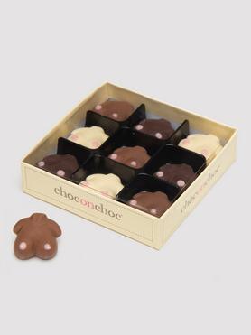 Handmade Chocolate Boobies (9 Pack)