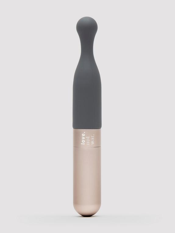 Vibromasseur clitoridien rechargeable durable Meile, Lovehoney X Love Not War, Gris, hi-res