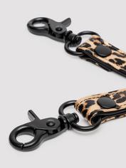 Bondage Boutique Leopard Print Hogtie, Black, hi-res