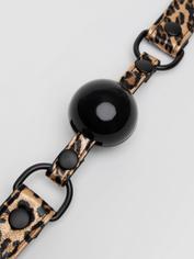 Bâillon-boule motif léopard Leopard Print, Bondage Boutique, Brun, hi-res