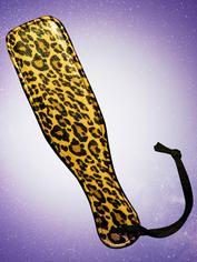 Bondage Boutique Paddel mit Leopardenmuster (klein), Schwarz, hi-res