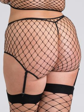 Lovehoney Plus Size Mindful ECONYL® Fishnet Panties