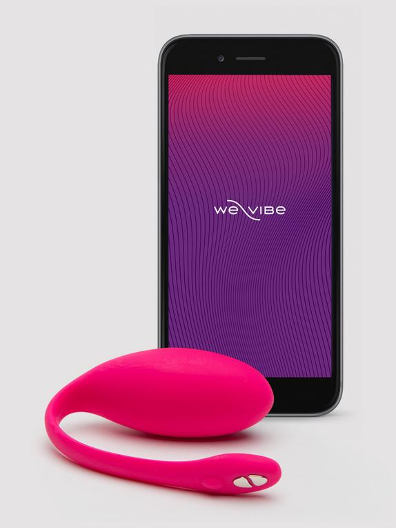 We-Vibe Jive App Controlled Rechargeable Love Egg Vibrator, Pink, hi-res