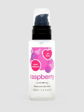 Lovehoney Raspberry Flavoured Lubricant 100ml