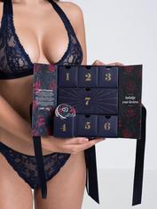 Lovehoney 7 Nights of Temptation Lingerie Calendar, Blue, hi-res