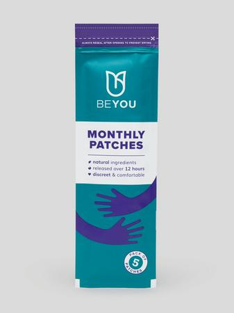 BeYou Monthly Menstruation Patches (5 Count)