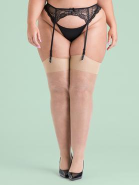 Lovehoney Plus Size Mindful Stockings (Shade 1)