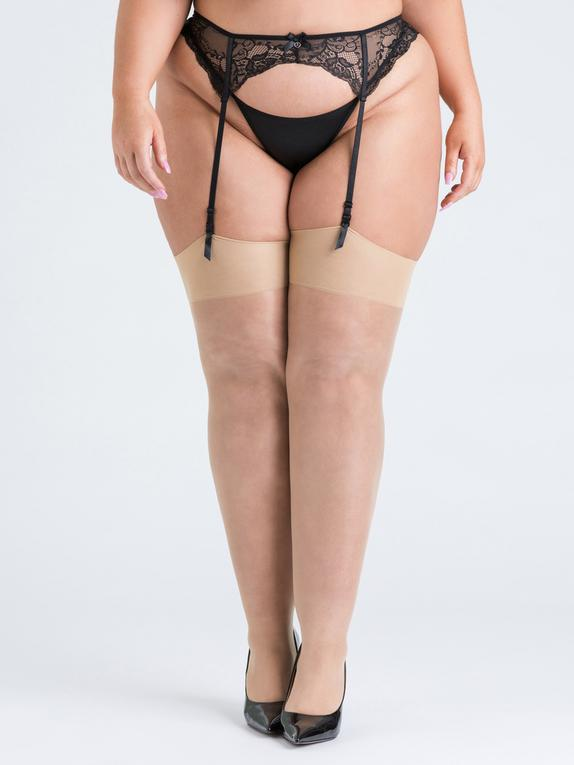 Lovehoney Mindful Stockings (Shade 1), Cream, hi-res