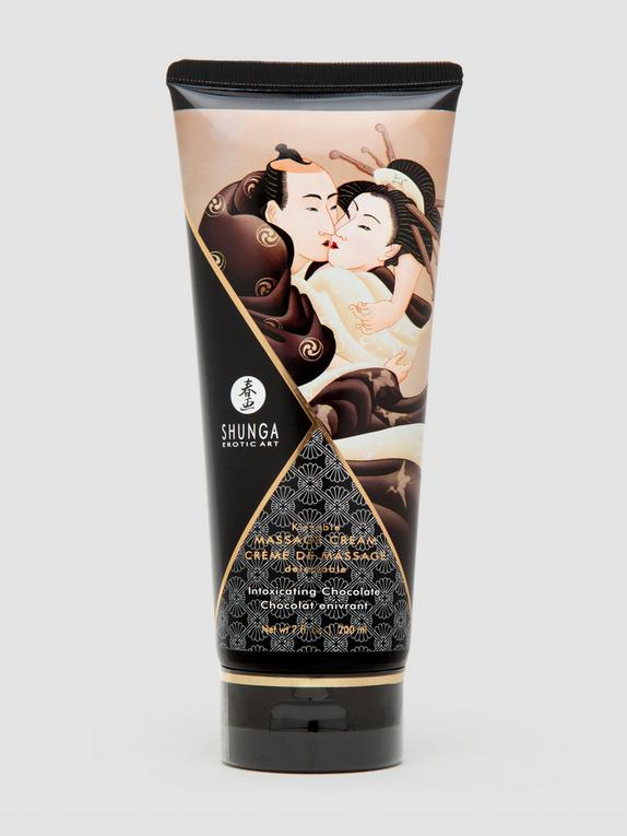 Shunga Intoxicating Chocolate Kissable Massage Cream 200ml, , hi-res