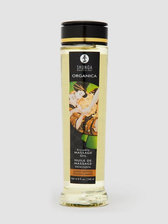Shunga Almond Sweetness Massage Oil 240ml, , hi-res
