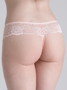 Lovehoney Flirty Perlen-String (rosa)